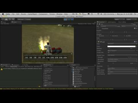 122. Unity3d Tutorial - Looting Part 7