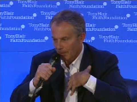 Shaykh Hamza Yusuf & Tony Blair Faith Foundation 7/8