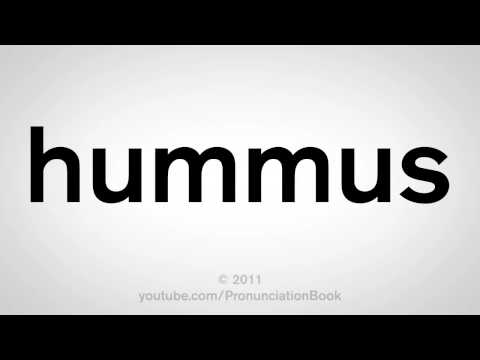 How To Pronounce Hummus