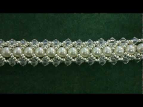 Beading4perfectionists : Beginners tutorial :  Flat Spiral beading tutorial