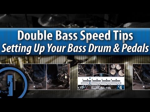 Double Bass Drumming Speed Tips