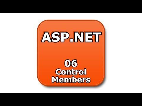 ASP.NET Tutorial - 06 - Control Members