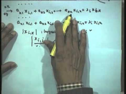 Lec-20 Solution of a System of Linear Algebraic Equations-Part-10