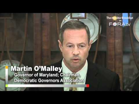"Democrats Must ""Fight Like Hell"" for Obama Jobs Plan, Says Democratic Governors Chair O'Malley"