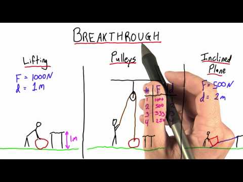 Breakthrough - Intro to Physics - Work and Energy - Udacity