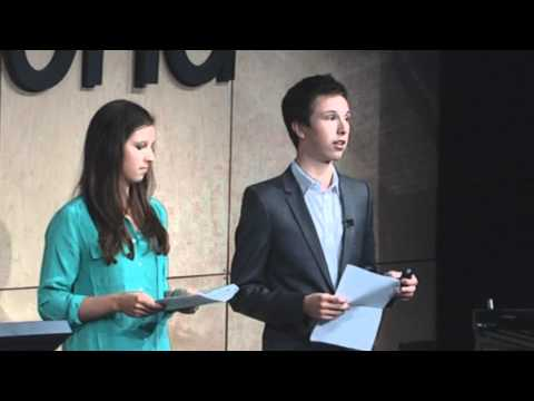 TEDxRedmond - Conor Perrin and Kendall Perrin - Life and Death (and Hope) in the Bush