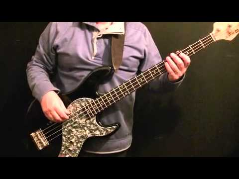 How To Play Bass Guitar To Jumping Jack Flash - Rolling Stones