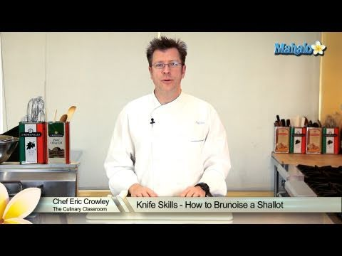 Knife Skills - How to Brunoise a Shallot
