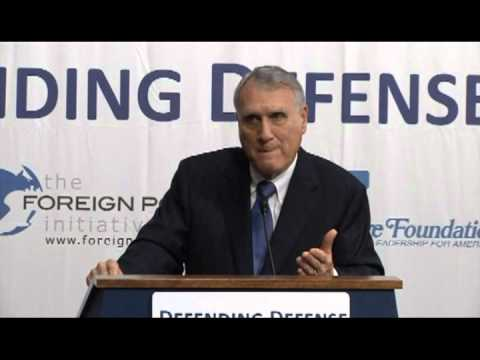 Senator Jon Kyl on Sequestration's Shadow on the U.S. Military and the Defense Industrial Base