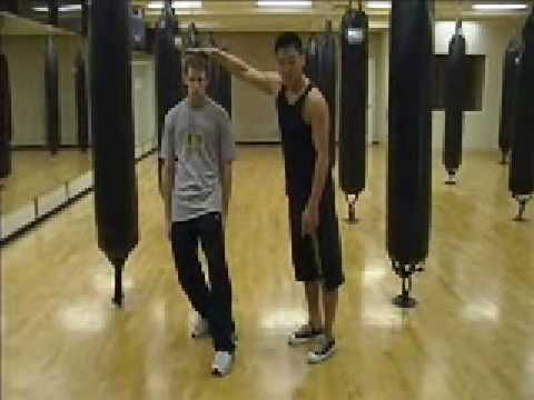 Wing Chun - Inside Triangle Footwork (basics) part 1