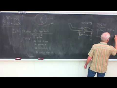 Saylor ME202: Dynamics Rigid Body Translation
