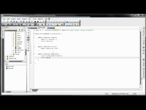 CodeIgniter Tutorials: Introduction to CodeIgniter - Models (Part 3/11)