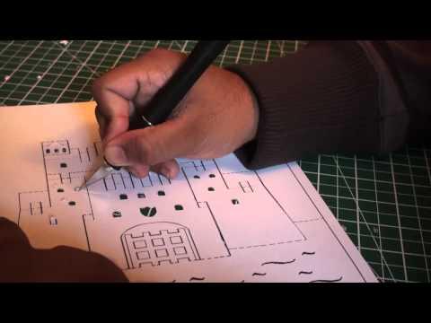 Kirigami Pop Up Ancient Castle (Paper Craft) - TCGames [HD]!