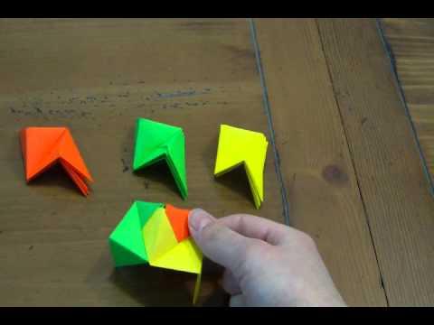 Modular Origami Ball II (12 units)