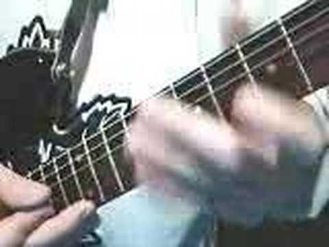 Van Halen Style Fretboard Fingertapping (Guitar Lesson)