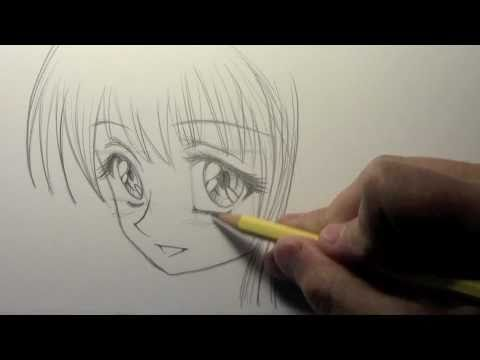 "How to Draw a ""Big-Eyed"" Manga Girl [HTD Video #6]"
