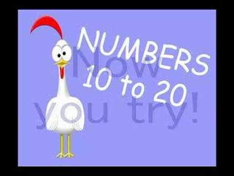 Teaching the numbers 10 to 20