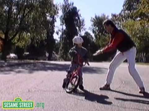 Sesame Street: Learning to Ride a Bike