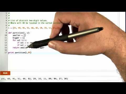 Partitioning around V Solution - Algorithms - Statistics - Udacity