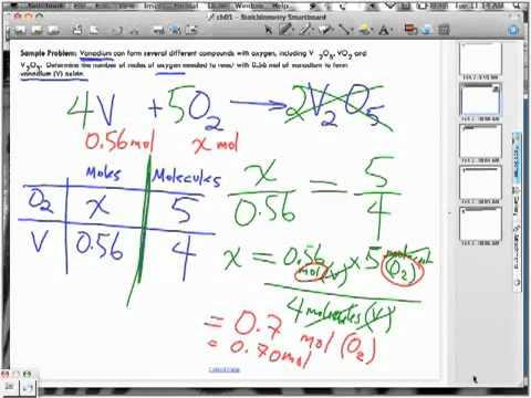 Stoichiometry Lecture