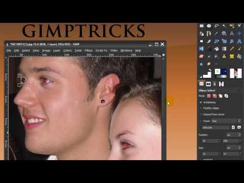 Red Eye Removal in GIMP 2.6