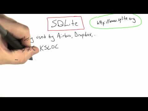 SQLite - Software Testing - Coverage Testing - Udacity