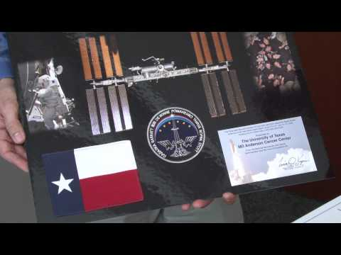 A Piece of MD Anderson Heads to Space