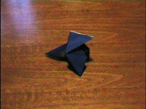 How to make an Origami Pajarita (Multiform - Form 6) ...for all (47)
