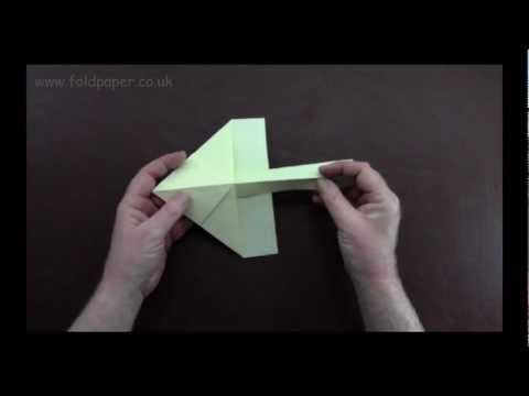 Origami Paper Plane Instructions
