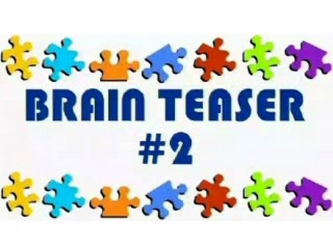 Video Brain Teaser #2