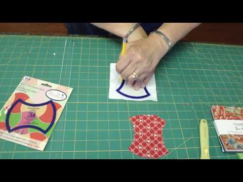The Apple Core Template for Easy Quilting!