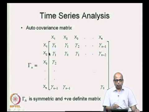 Mod-04 Lec-10 Time Series Analysis - I