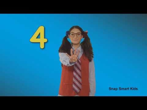 Counting Numbers 1 to 10 Snap Smart Kids - Kids Songs Children Songs