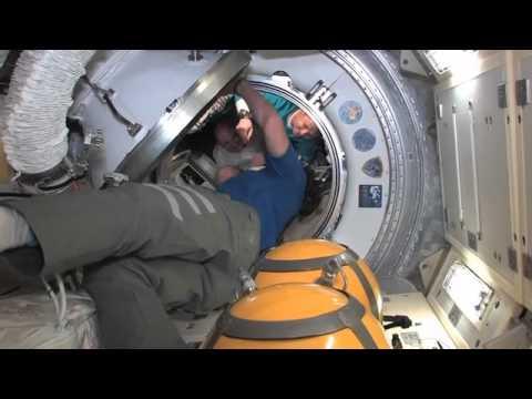 ISS Crew Bids Fond Farewell