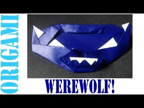 Origami Daily - 097 Werewolf Pumpkin (By Suhas) - TCGames [HD]