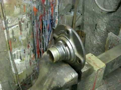 Inner Wheel Bearing Race Removal
