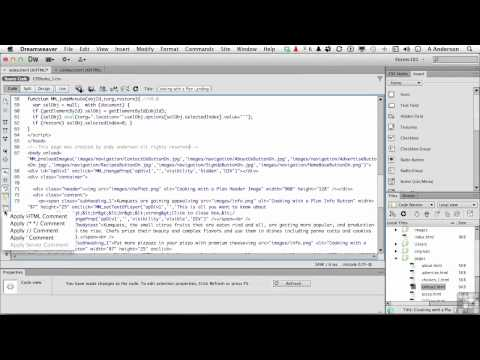 Dreamweaver CS6 Tutorial | The Code View Toolbar | InfiniteSkills