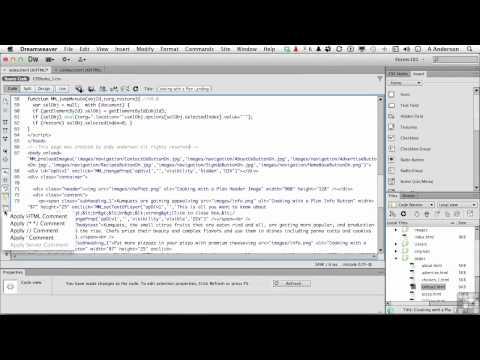 Dreamweaver CS6 Tutorial | The Code View Toolbar | InfiniteSkills