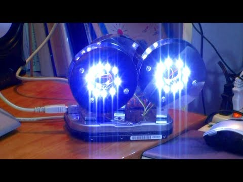 How-To Hack The Broken Hard-Drives to Rechargeable LED Unit