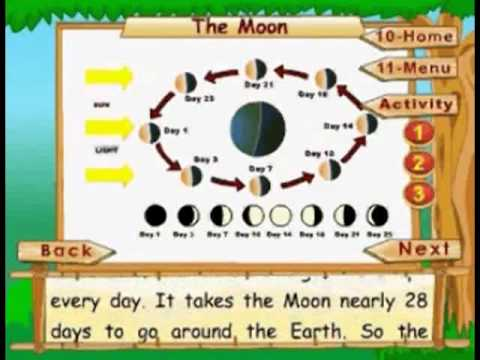 The Moon - Kids Animation Learn Series