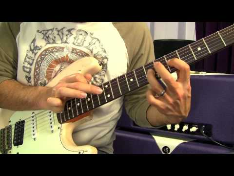 Blues Tapping Lesson