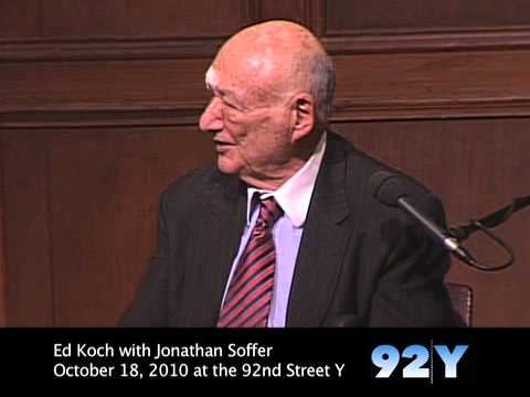 Ed Koch: Tea Party a 'Vehicle for Anger'