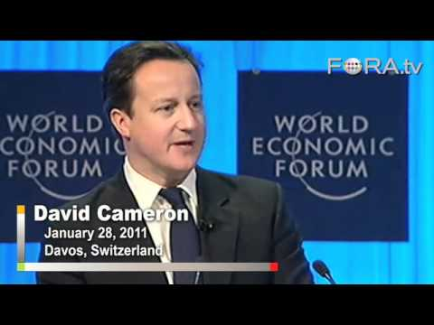 British PM Cameron Calls for Reindustrialization of Europe