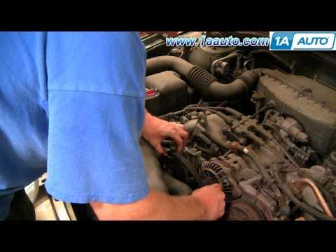 How To Install Replace Service Engine Alternator Fan Belt Subaru Outback 00-04 1AAuto.com