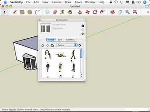 SketchUp: Using SketchUp's handy-dandy components