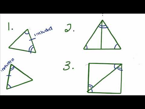 Introduction to Geometry - 16 - Congruent Triangles ASA, AAS