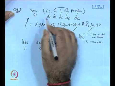 Mod-01 Lec-27 Dummy Modelling (Contd.)