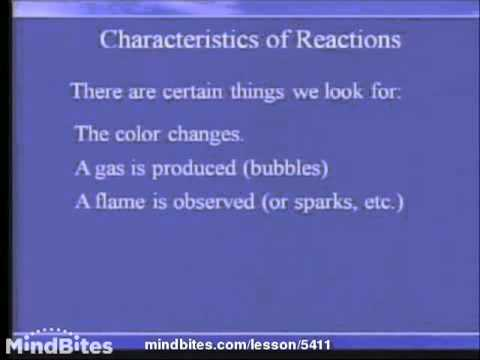 Chemistry Fundamentals: Introduction to Reactions