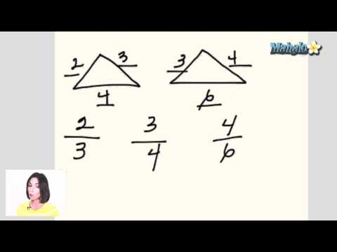 Properties of Similar Triangles (ex.1)