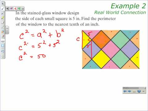 How to Solve a Problem with Radicals - Pythagorean Theorem